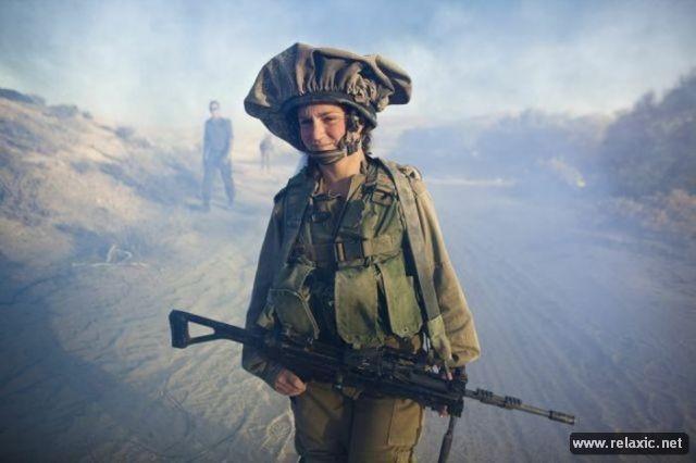 Những nữ quân nhân xinh đẹp Israel khiến giới mày râu cũng phải cúi chào ảnh 41