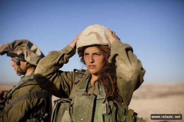 Những nữ quân nhân xinh đẹp Israel khiến giới mày râu cũng phải cúi chào ảnh 44