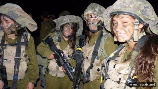 Những nữ quân nhân xinh đẹp Israel khiến giới mày râu cũng phải cúi chào ảnh 45
