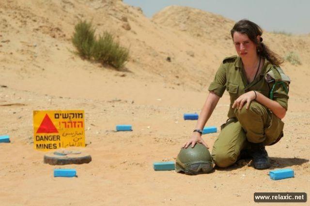 Những nữ quân nhân xinh đẹp Israel khiến giới mày râu cũng phải cúi chào ảnh 46