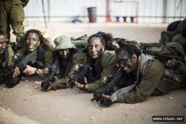 Những nữ quân nhân xinh đẹp Israel khiến giới mày râu cũng phải cúi chào ảnh 50