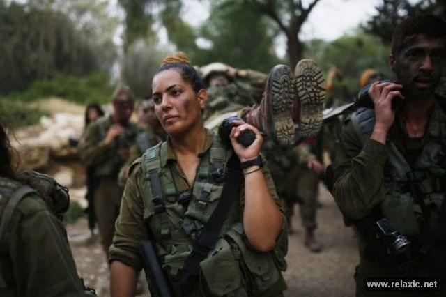 Những nữ quân nhân xinh đẹp Israel khiến giới mày râu cũng phải cúi chào ảnh 57
