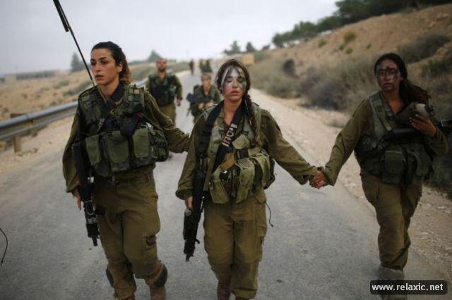 Những nữ quân nhân xinh đẹp Israel khiến giới mày râu cũng phải cúi chào ảnh 59