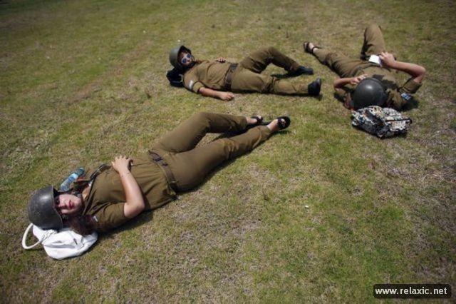 Những nữ quân nhân xinh đẹp Israel khiến giới mày râu cũng phải cúi chào ảnh 69