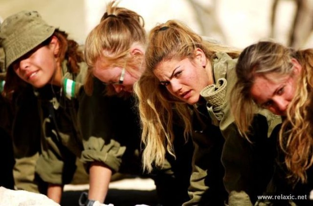 Những nữ quân nhân xinh đẹp Israel khiến giới mày râu cũng phải cúi chào ảnh 76