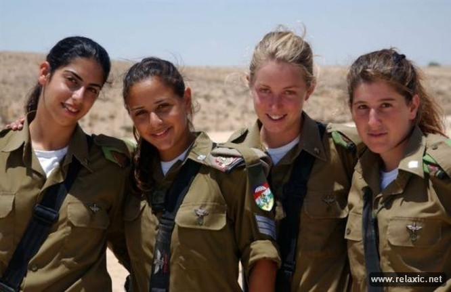 Những nữ quân nhân xinh đẹp Israel khiến giới mày râu cũng phải cúi chào ảnh 78