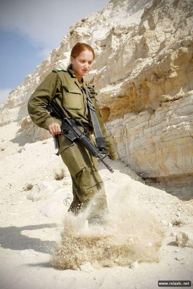 Những nữ quân nhân xinh đẹp Israel khiến giới mày râu cũng phải cúi chào ảnh 83