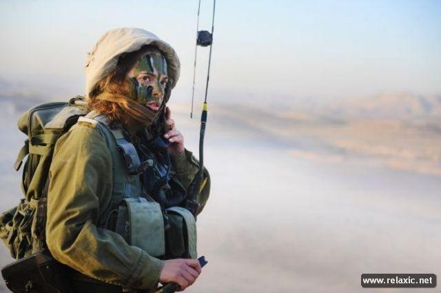 Những nữ quân nhân xinh đẹp Israel khiến giới mày râu cũng phải cúi chào ảnh 90