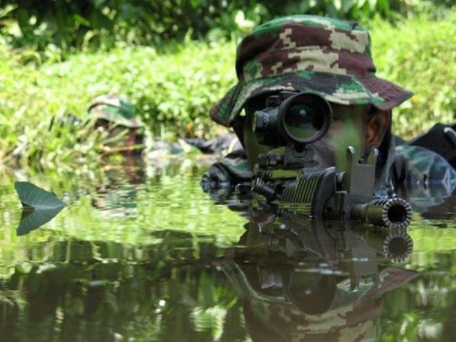 Bí mật lực lượng đặc nhiệm Indonesia KOPASSUS ảnh 1