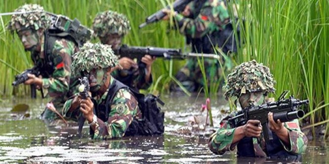 Bí mật lực lượng đặc nhiệm Indonesia KOPASSUS ảnh 2