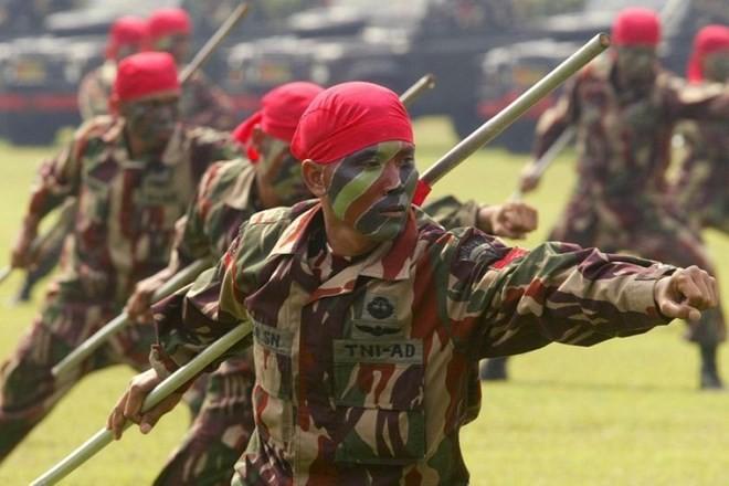 Bí mật lực lượng đặc nhiệm Indonesia KOPASSUS ảnh 8