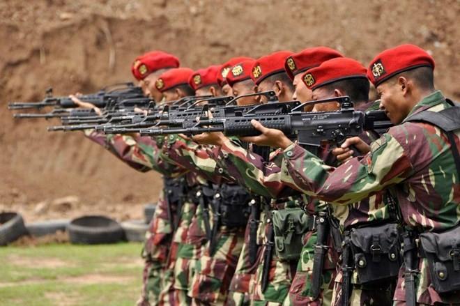 Bí mật lực lượng đặc nhiệm Indonesia KOPASSUS ảnh 6