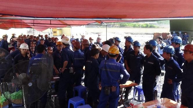 300 người đang giải cứu thợ mỏ Hòn Gai ở độ sâu 165m ảnh 4