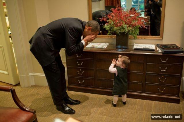 Tổng thống quyền lực nhất thế giới giữa đời thường ảnh 32
