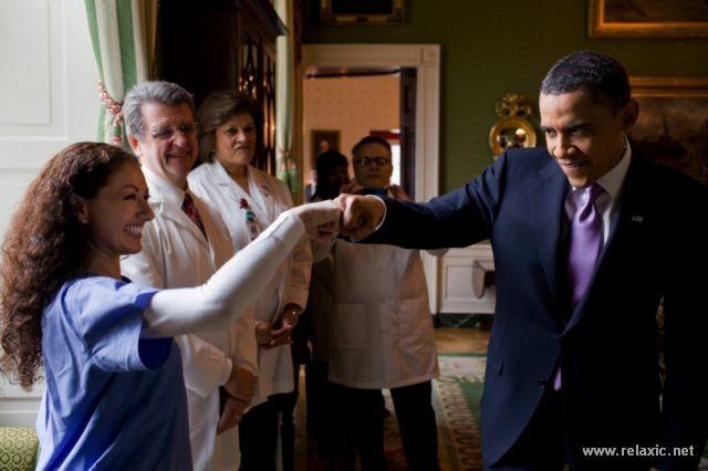 Tổng thống quyền lực nhất thế giới giữa đời thường ảnh 47