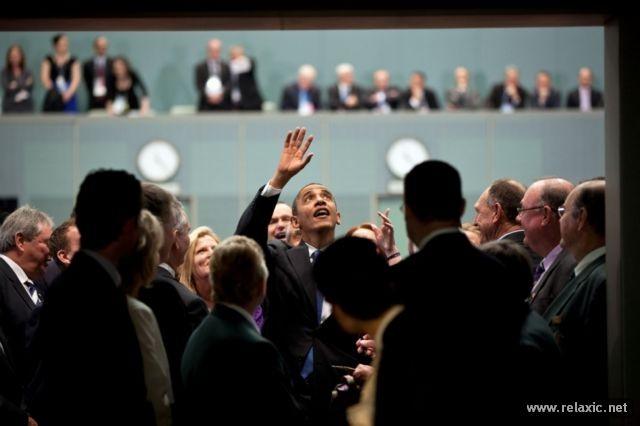 Tổng thống quyền lực nhất thế giới giữa đời thường ảnh 90