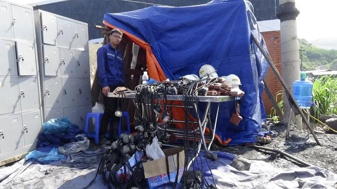 300 người đang giải cứu thợ mỏ Hòn Gai ở độ sâu 165m ảnh 1