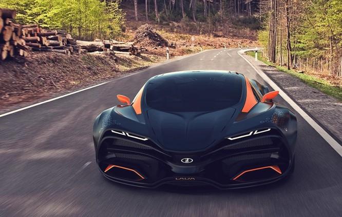 Siêu xe Lada mới – quái thú trên đường đua ảnh 10