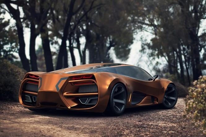 Siêu xe Lada mới – quái thú trên đường đua ảnh 11