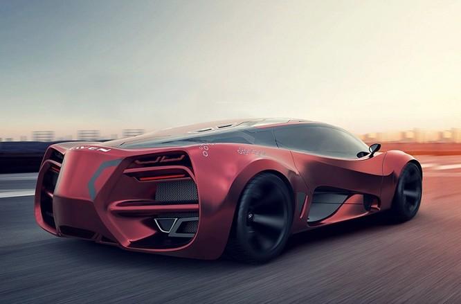 Siêu xe Lada mới – quái thú trên đường đua ảnh 4