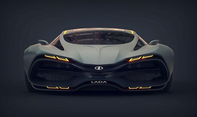 Siêu xe Lada mới – quái thú trên đường đua ảnh 5