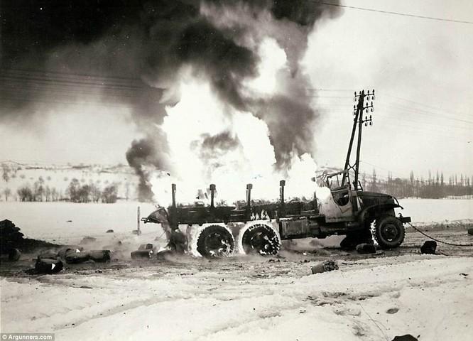 Chùm ảnh bi thảm Đại chiến thế giới thứ II của tướng 4 sao Mỹ ảnh 3