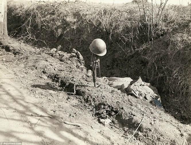 Chùm ảnh bi thảm Đại chiến thế giới thứ II của tướng 4 sao Mỹ ảnh 18