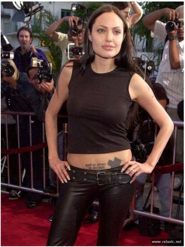 Sự thay đổi phong cách của Angelina Jolie ảnh 8