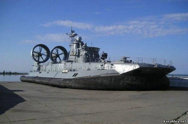 """Lướt trên sóng đại dương - tàu đổ bộ đệm khí Bò rừng """"Zubr"""" ảnh 2"""