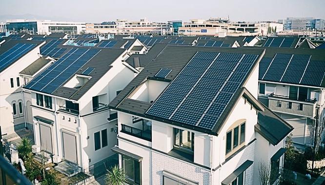 Kỳ lạ thành phố sử dụng năng lượng mặt trời ở Nhật Bản ảnh 1