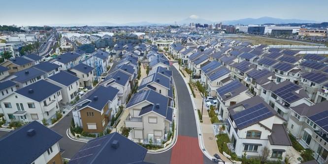 Kỳ lạ thành phố sử dụng năng lượng mặt trời ở Nhật Bản ảnh 4