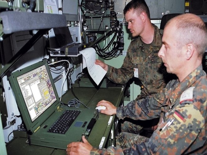 Hệ thống điều hành tác chiến pháo binh chiến trường siêu hiện đại ảnh 7