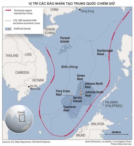 """Trung Quốc chơi """"bạc bịp"""" trên biển Đông với phần còn lại của thế giới ảnh 2"""