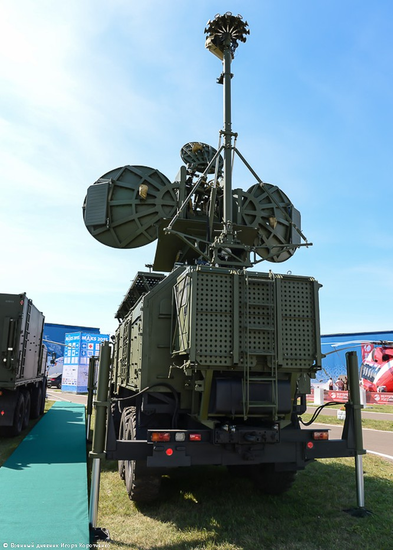 """Cận cảnh xe khí tài chế áp điện tử modul 1RL257E """"Krasuha-4"""" nổi tiếng ảnh 9"""