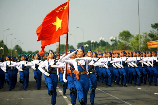 30.000 người tham gia diễu binh, diễu hành kỷ niệm Quốc khánh 2/9 ảnh 4