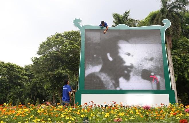 Hà Nội rực đỏ chào đón 70 năm độc lập ảnh 4