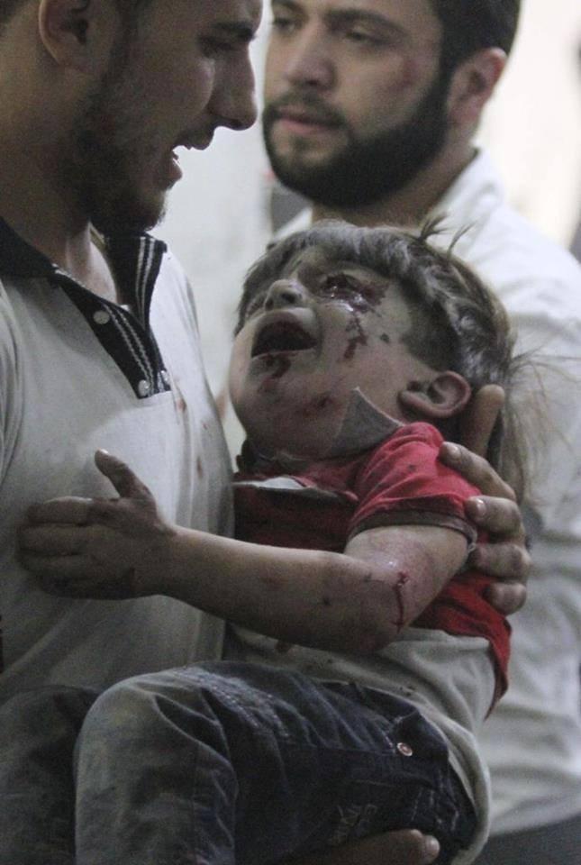 Chùm ảnh thảm họa nhân đạo trẻ em ở địa ngục Syria ảnh 4