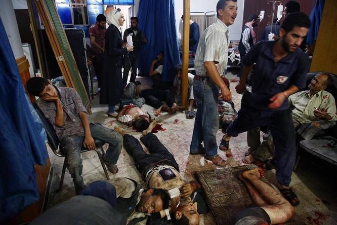 Chùm ảnh thảm họa nhân đạo trẻ em ở địa ngục Syria ảnh 13