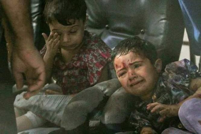 Chùm ảnh thảm họa nhân đạo trẻ em ở địa ngục Syria ảnh 28