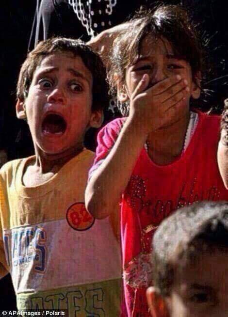 Chùm ảnh thảm họa nhân đạo trẻ em ở địa ngục Syria ảnh 33