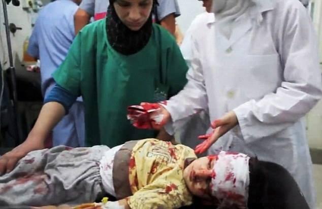 Chùm ảnh thảm họa nhân đạo trẻ em ở địa ngục Syria ảnh 38