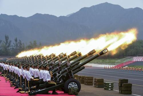 Trung Quốc muốn phát đi thông điệp gì từ cuộc duyệt binh ảnh 1