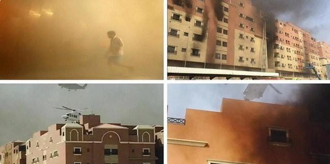 Cháy chung cư Saudi Arabia, 10 người chết, 259 người bị thương ảnh 1