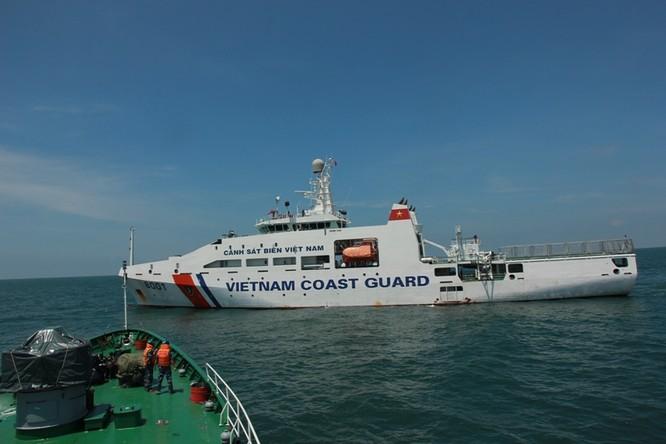 Cảnh sát biển Việt - Ấn huấn luyện chung ảnh 1