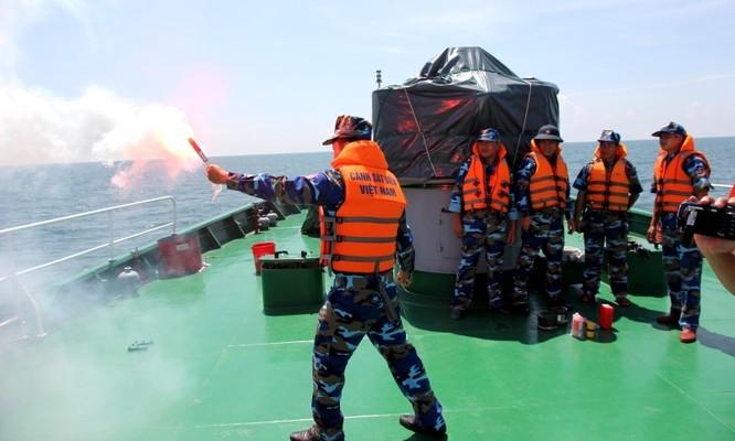 Cảnh sát biển Việt - Ấn huấn luyện chung ảnh 3