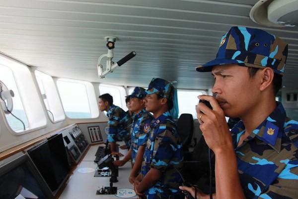 Cảnh sát biển Việt - Ấn huấn luyện chung ảnh 5