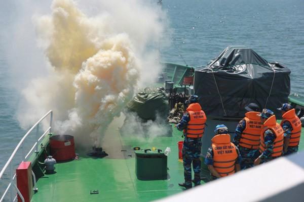 Cảnh sát biển Việt - Ấn huấn luyện chung ảnh 6
