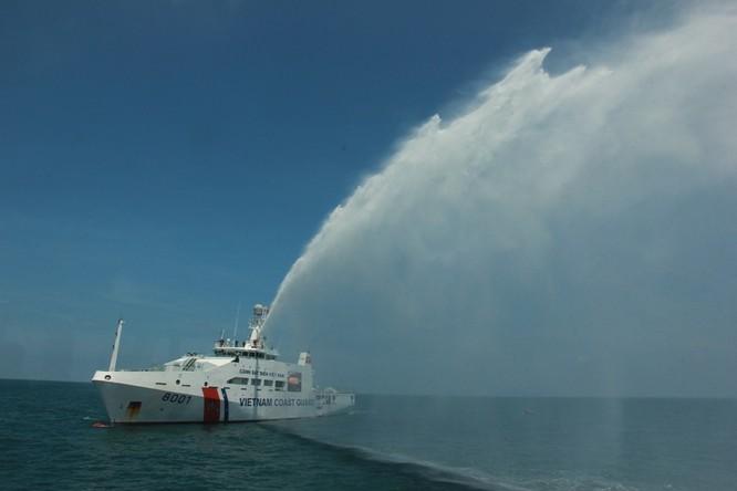 Cảnh sát biển Việt - Ấn huấn luyện chung ảnh 8