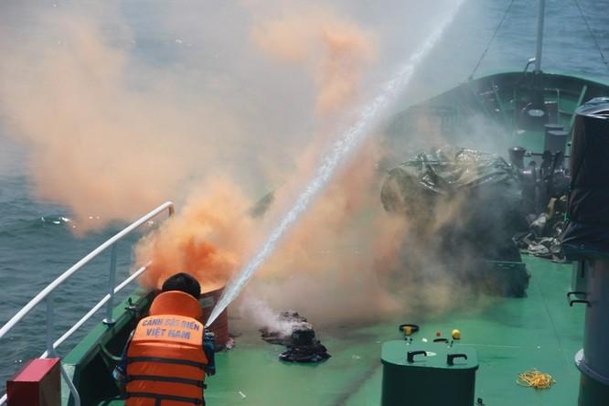 Cảnh sát biển Việt - Ấn huấn luyện chung ảnh 7