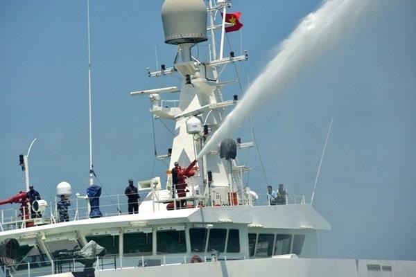 Cảnh sát biển Việt - Ấn huấn luyện chung ảnh 9